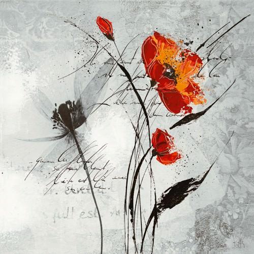 Petite aventure fleurie II von Isabelle Zacher-Finet