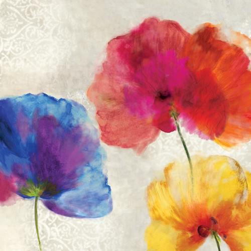 Lush Floral I von Asia Jensen