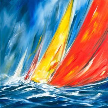 Dynamic Sail II von Ines Ramm