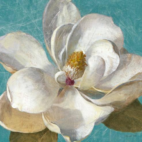 Turquoise Bloom II von Danhui Nai