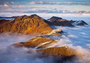 Berggipfel II von Rainer Mirau