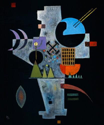 Kreuzform von Wassily Kandinsky