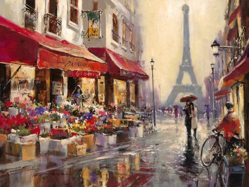 April in Paris von Brent Heighton