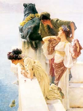 A Coign of Vantage von Sir Lawrence Alma-Tadema