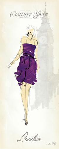 Fashion Lady III von Avery Tillmon