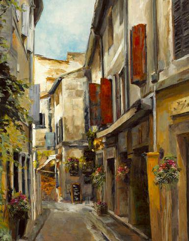 Old Town I von Marilyn Hageman
