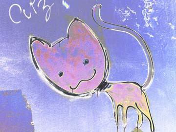 Katze 2 von Gerd Weissing