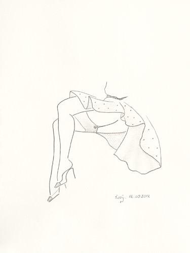 Serie Beine II von Rosy Schneider