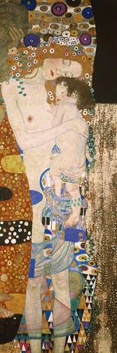 Die drei Lebensalter (Detail) von Gustav Klimt