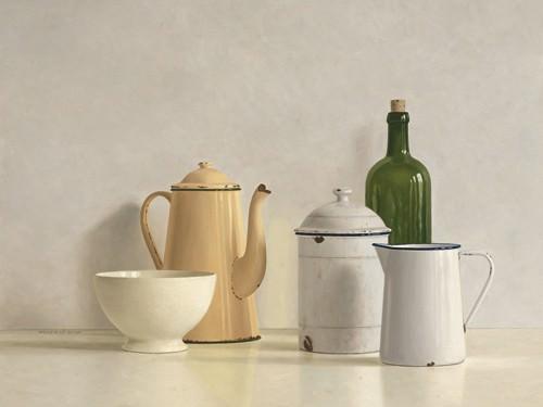 Still Life with yellow Coffeepot von Willem de Bont