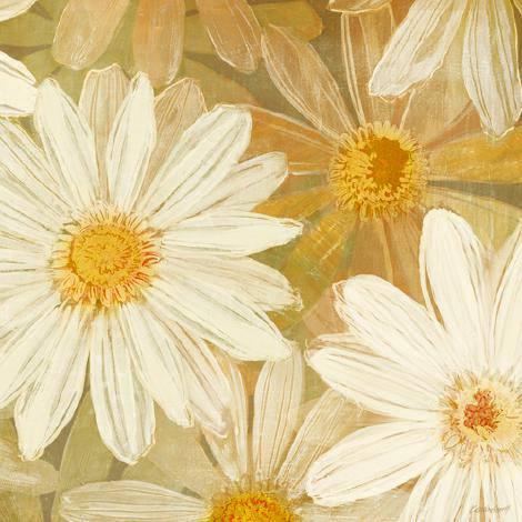 Daisy Story Square II von Kathrine Lovell