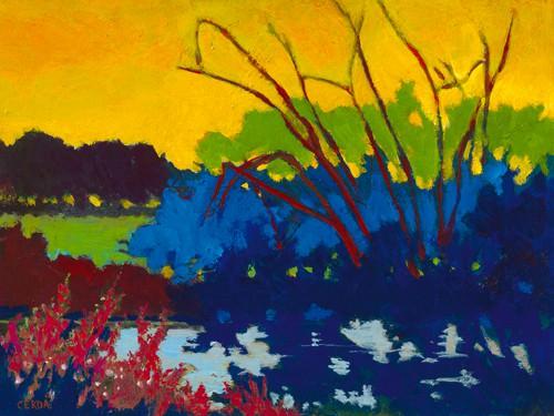 Soleil jaune von Caroline Cerde