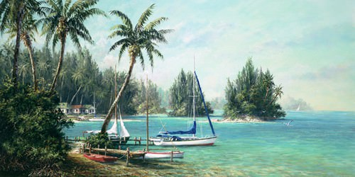 Island Cove von Art Fronckowiak