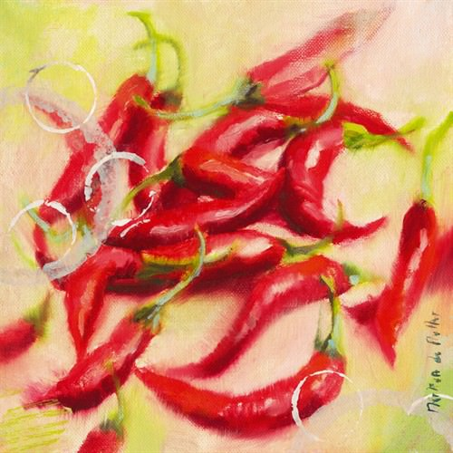 Chilis I von Emmanuelle Mertian de Muller