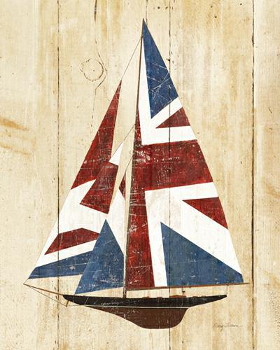 British Flag Sailboat von Avery Tillmon
