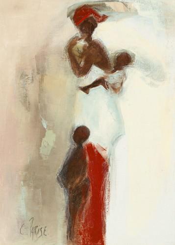 Silhouettes Africaines II von Chantal Parise