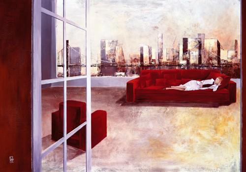 Brooklyn Sunset von Corinne Dauger