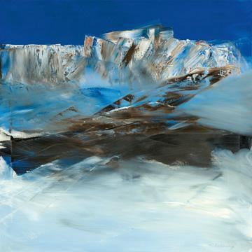 Eislandschaft I von Conny Roßkamp