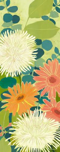 Tangerine Garden III von Kathrine Lovell