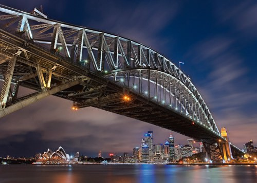 Sydney Harbour Bridge von Lothar Ernemann