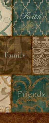 Faith Family Friends von Alain Pelletier