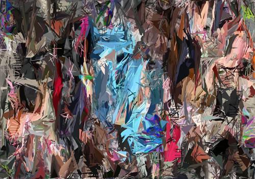 Day of Colors I von Ferdinand Vogel