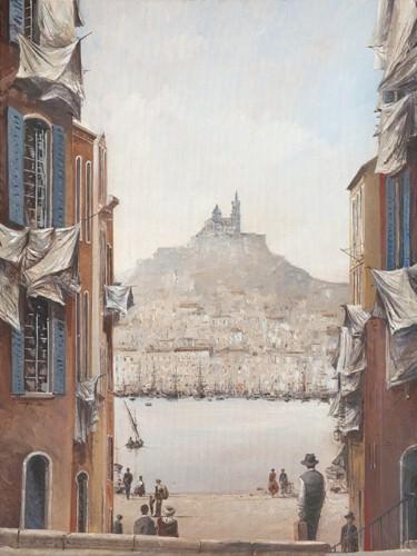 Descente vers le vieux port von Yann Letestu