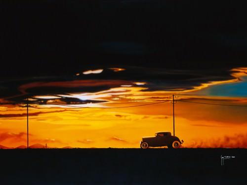 Sunset Run von Guy Tempier