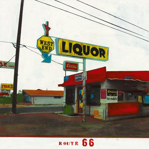 Route 66 - West End Liquor von Ayline Olukman
