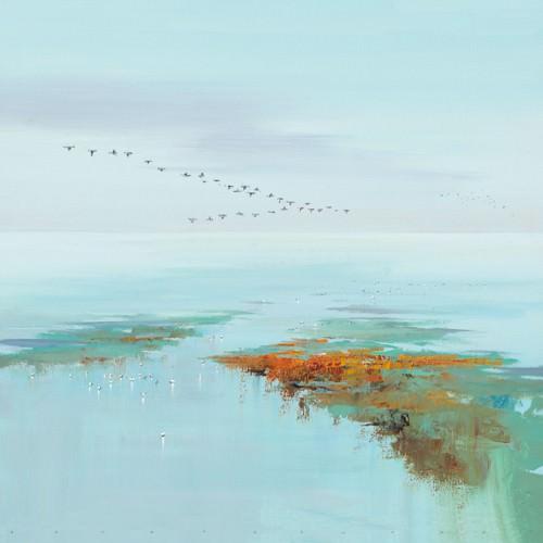 Flying Birds von Jan Groenhart