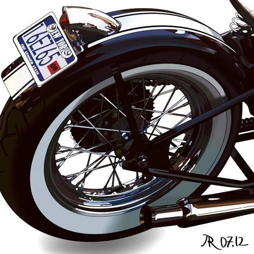 Bobber Detail von Pierre Strapelias - PR