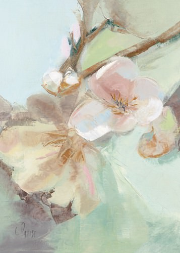 Fleurs Printanieres I von Chantal Parise