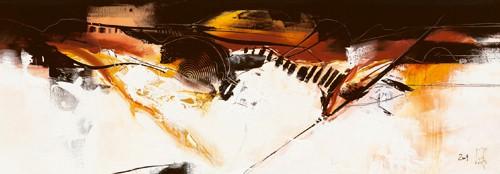 Violino III von Isabelle Zacher-Finet