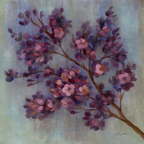 Twilight Cherry Blossoms II von Silvia Vassileva