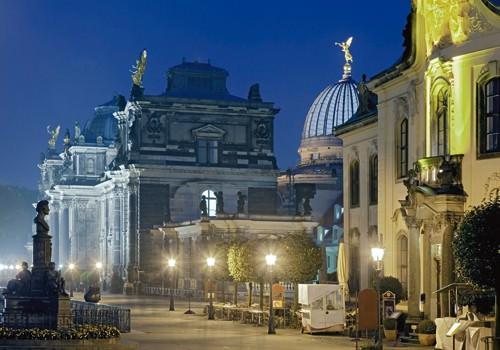 Dresden Brehler Terrassen von Rolf Fischer