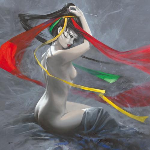 Geisha II von Cedric Cazal