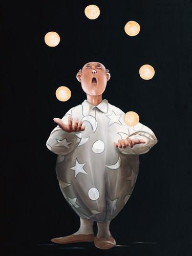Le jongleur II von Pierre Rouillon