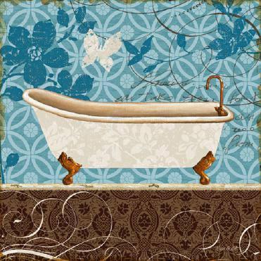 Eco Motif Bath I von Lisa Audit