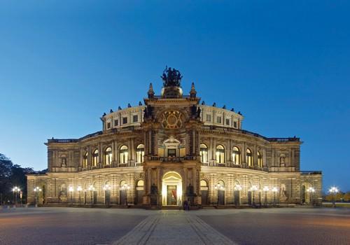 Semper Oper Dresden von Rolf Fischer