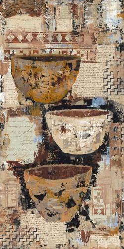 Old Pots II von Sandee Shaffer Johnson