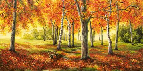 Herbststimmung von Cornelia Richter