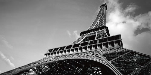 Eiffel Turm III von Leo Seidel