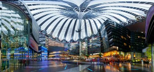 Sony Center Panorama von Rolf Fischer