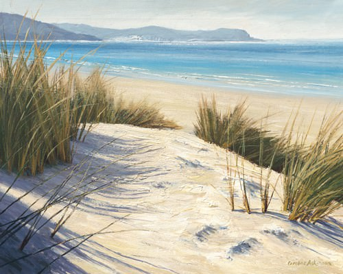 Afternoon Dunes von Caroline Atkinson