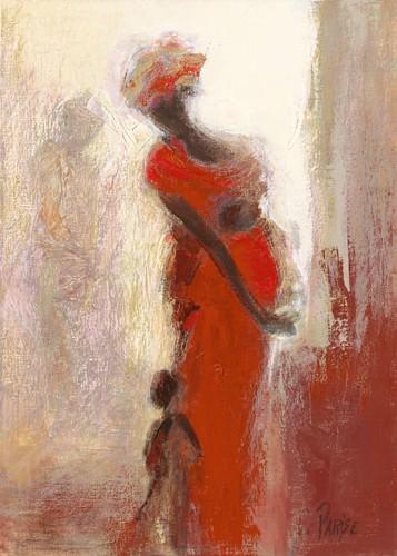 Silhouettes Africaines IV von Chantal Parise