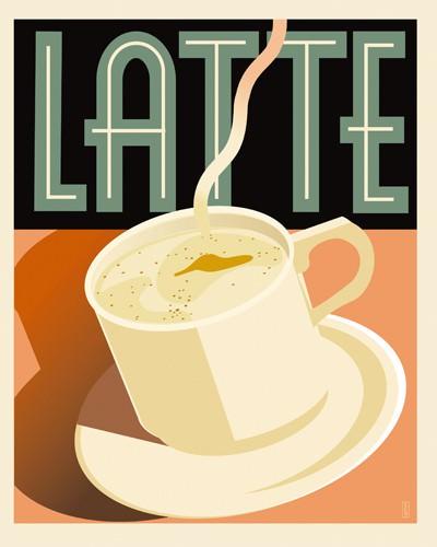 Latte von Richard Weiss