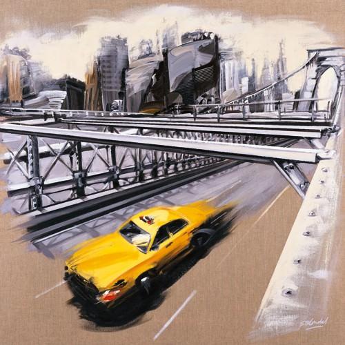 New York - Brooklyn Bridge von Sandrine Blondel