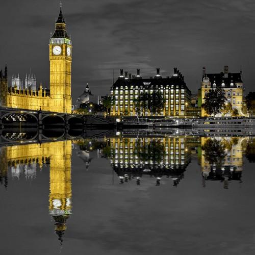 London Big Ben von Rolf Fischer