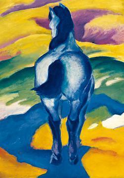 Blaues Pferd II von Franz Marc