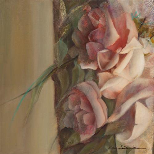 Les roses de mon jardin I von Elvira Amrhein